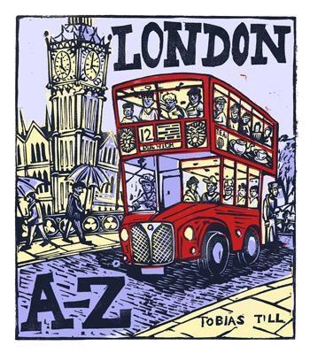 London A-Z - 28 x 24cm