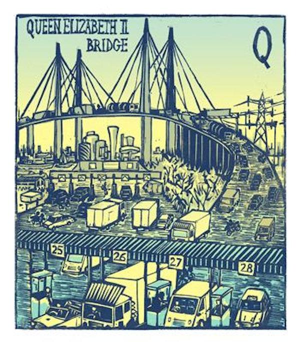 Q - Queen Elizabeth II Bridge